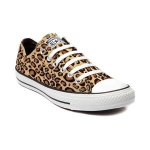 All Star Leopard/ cheetah converse